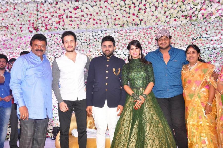 Mahesh Babu,Pawan Kalyan,Allu Arjun,Jr Ntr,Balakrishna,Talasani Srinivas Yadav Daughter Swathi Wedding Reception,Swathi Wedding Reception,Swathi Wedding Reception pics,Swathi Wedding Reception images