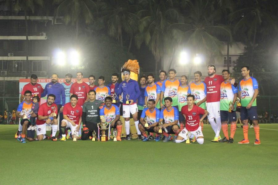All Stars Football Club charity football match,Varun Dhawan