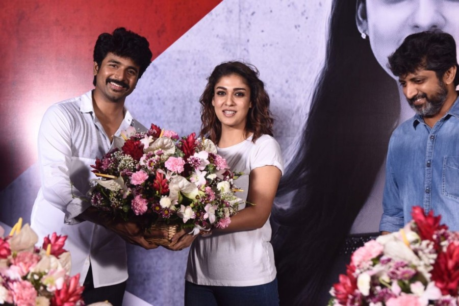 Sivakarthikeyan,Mohan Raja,Sivakarthikeyan and Nayanthara,Nayanthara,Nayanthara Birthday,Nayanthara Birthday celebration,Nayanthara Birthday celebration pics,Nayanthara Birthday celebration images,Nayanthara Birthday celebration photos,Nayanthara Birthday