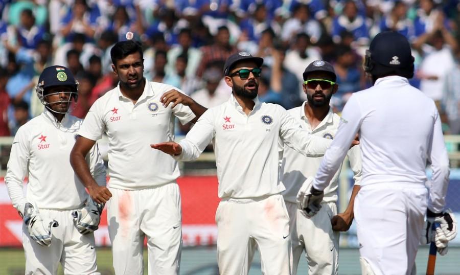 Ravichandran Ashwin,Ashwin,Ashwin notched up a five-wicket haul,India vs England,India vs England 2016,India vs England Test Series,Ind vs Eng,Ravichandran Ashwin stars