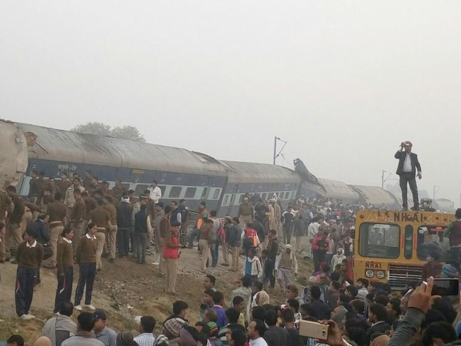 Patna-Indore Express,Patna-Indore Express train,Patna-Indore Express train derails,train derails,Kanpur