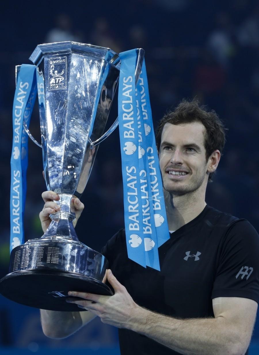 Andy Murray,Novak Djokovic,Andy Murray beats Novak Djokovic,Andy Murray wins ATP World Tour Finals,Andy Murray wins ATP World Tour,Andy Murray wins ATP World Tour title,ATP World Tour Finals,ATP World Tour Finals 2016,ATP World Tour,ATP World Tour pics,AT