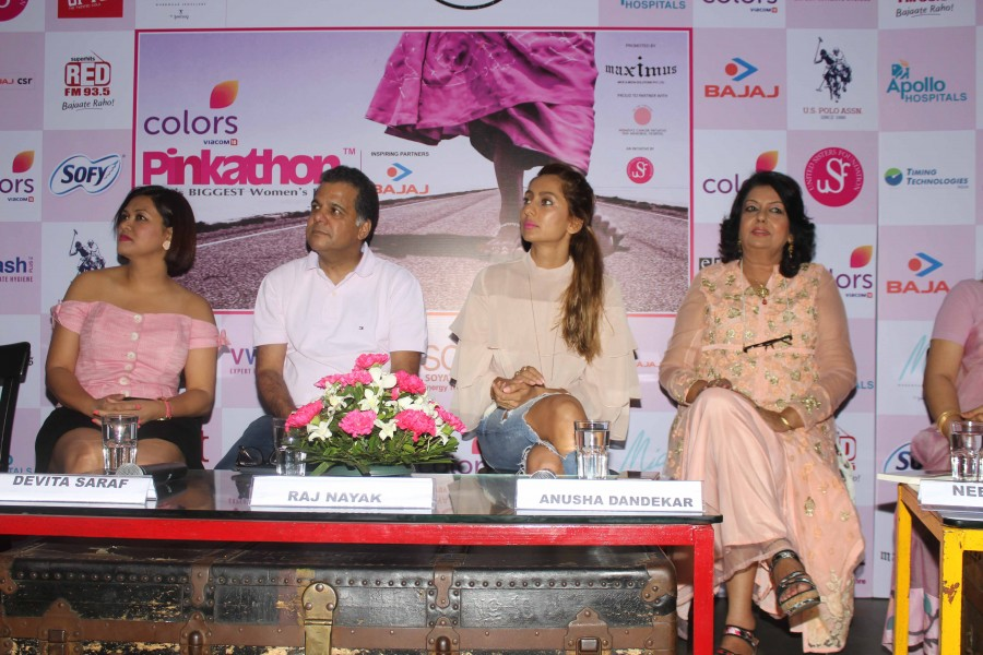 Milind Soman,Anusha Dandekar,Milind Soman and Anusha Dandekar,Fifth Edition of Pinkathon,announcement of Fifth Edition of Pinkathon