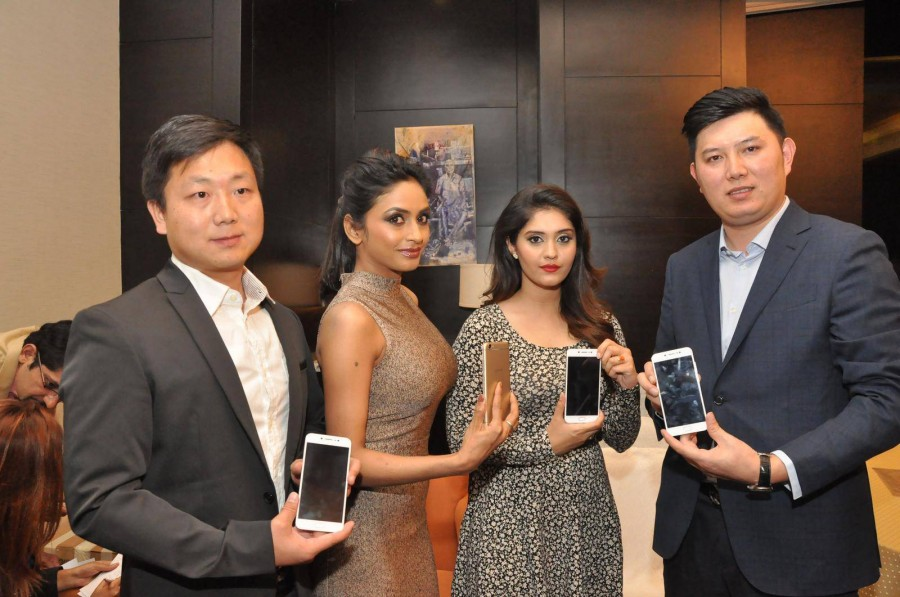Surabhi and Pooja Sri,Surabhi,Pooja Sri,Vivo V5 Mobile Launch,Vivo V5 Mobile,Vivo V5,Vivo V5 Mobile Launch pics,Vivo V5 Mobile Launch images,Vivo V5 Mobile Launch photos,Vivo V5 Mobile Launch stills,Vivo V5 Mobile Launch pictures