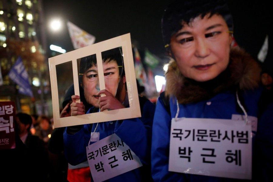 Massive protests against South Korea,Massive protests against president,protests against president,Park Geun-hye,president Park Geun-hye