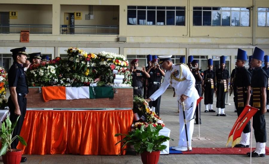Martyr Akshay,Martyr Akshay mortal,Martyr Akshay mortal at Yelahanka AFS,Nagrota militant attack,Yelahanka Air Force Station,Yelahanka Air Force
