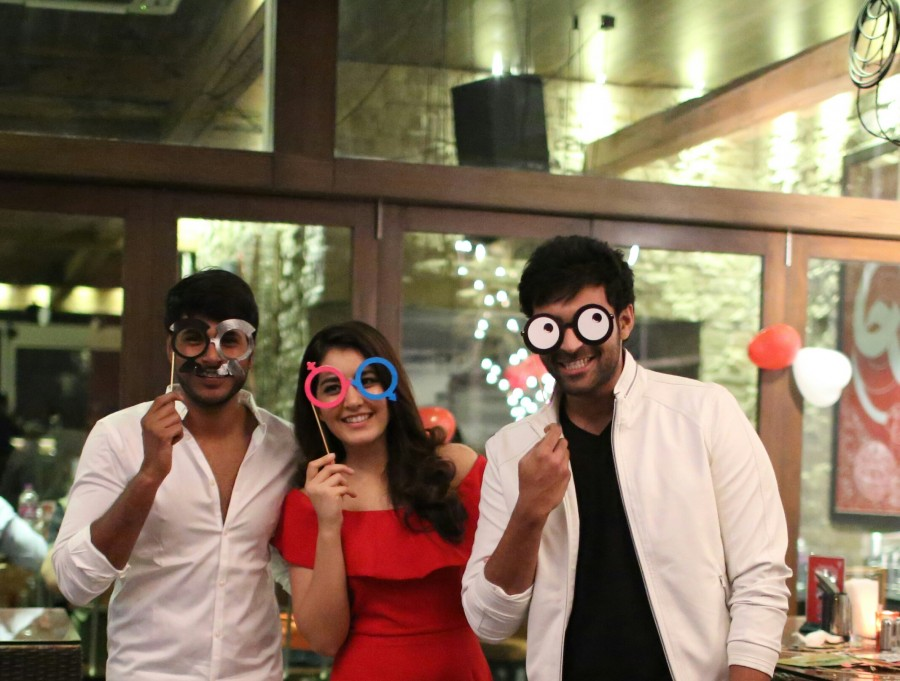 Rana Daggubati,Varun Tej,Allu Sirish,Nani,Ram,Rakul Preet Singh,Raashi Khanna birthday celebration,Raashi Khanna,Raashi Khanna birthday celebration pics,Raashi Khanna birthday celebration images,Raashi Khanna birthday celebration photos,Raashi Khanna birt