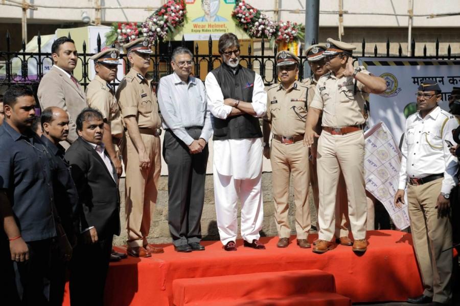 Amitabh Bachchan,actor Amitabh Bachchan,Amitabh Bachchan inaugurates road safety week,28th road safety week,road safety week,Amitabh Bachchan latest pics,Amitabh Bachchan latest images,Amitabh Bachchan latest photos,Amitabh Bachchan latest stills,Amitabh