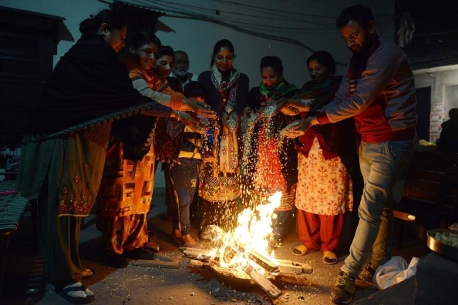 Bhogi Pongal Images