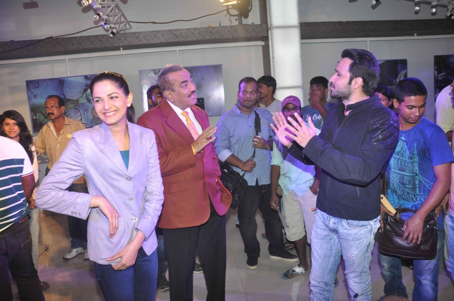 Emraan Hashmi,Mr X,CID,film promotion,Photos,Amyra dastur