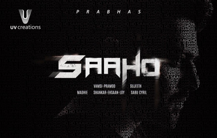 Prabhas' Saaho First Look Poster Is Out