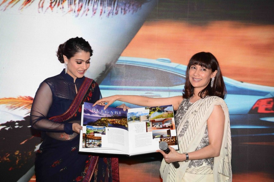 kajol launches 'the iconic book' in delhi - photos,images,gallery