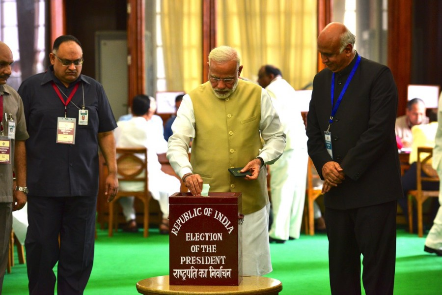 Narendra Modi,Amit Shah,Narendra Modi and Amit Shah,Presidential election,Indian presidential election 2017,Presidential election 2017,14th President