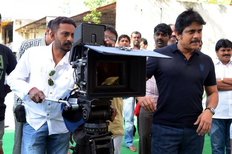Nagarjuna at Ayaan Creations new Movie Launch,Ayaan Creations new Movie Launch photos,Ayaan Creations new Movie Launch images