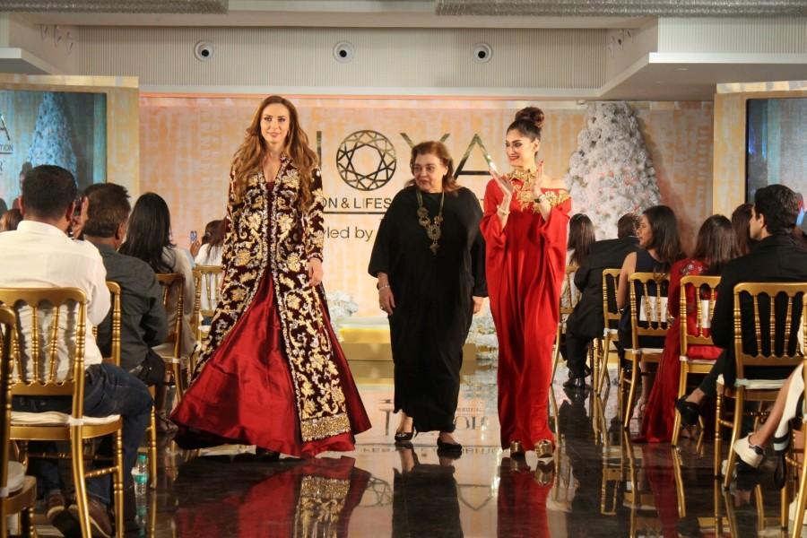 Lulia Vantur,model Lulia Vantur,salman khan lulia vantur,Lulia Vantur walks ramp,Joya Fashion & Lifestyle Exhibition,Lulia Vantur at Joya Fashion & Lifestyle Exhibition