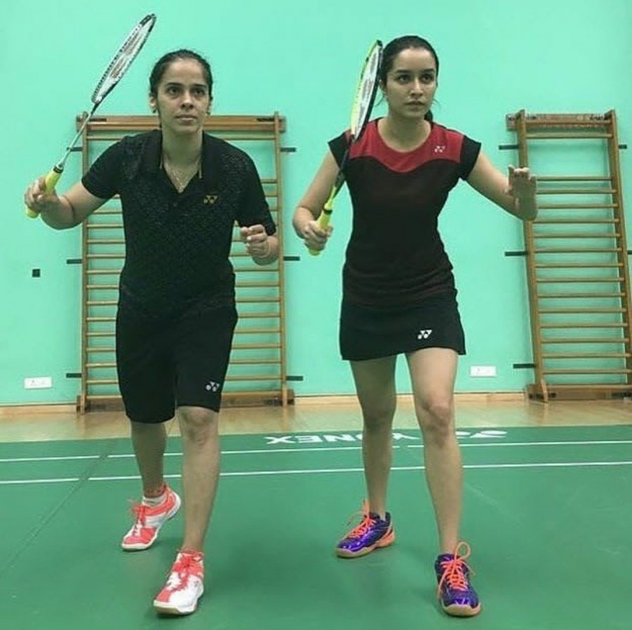 Saina Nehwal Gopichand coach Shraddha Kapoor for biopic s