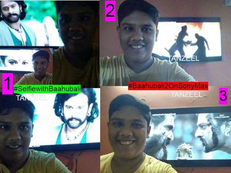 Prabhas,Prabhas fans,Baahubali 2: The Conclusion,Baahubali,Baahubali 2,Prabhas fans take selfies