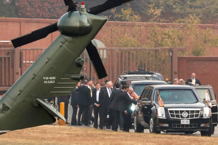 Fog forces,President Trump,Trump,Donald Trump