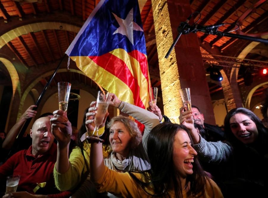 Catalan separatists win vote,Catalan separatists,Spanish Prime Minister Mariano Rajoy,Mariano Rajoy