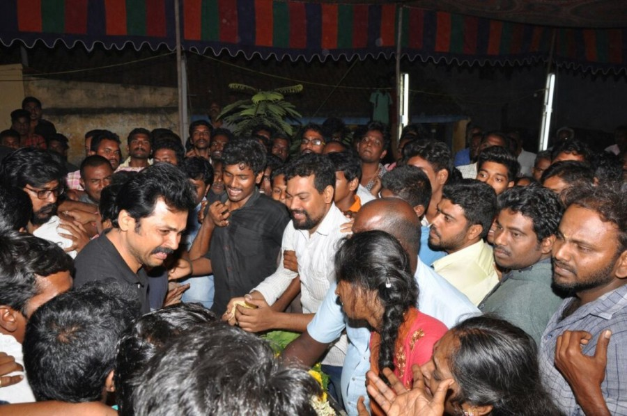 Karthi,actor Karthi,Fan Club secretary