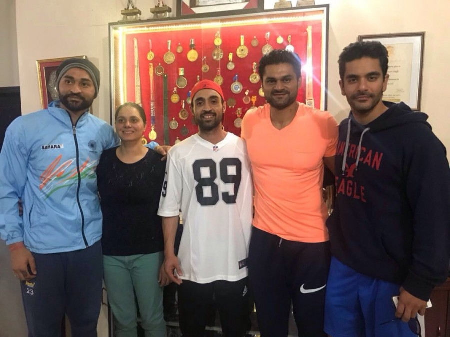 Bikramjeet Singh,Angad Bedi,Diljit Dosanjh,Sandeep Singh,Soorma,Soorma on the sets,Taapsee Pannu