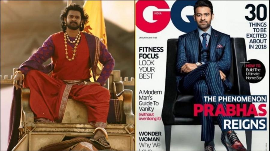 Prabhas,Baahubali star Prabhas,Baahubali pose,Prabhas on Magazine,Prabhas on GQ Magazine