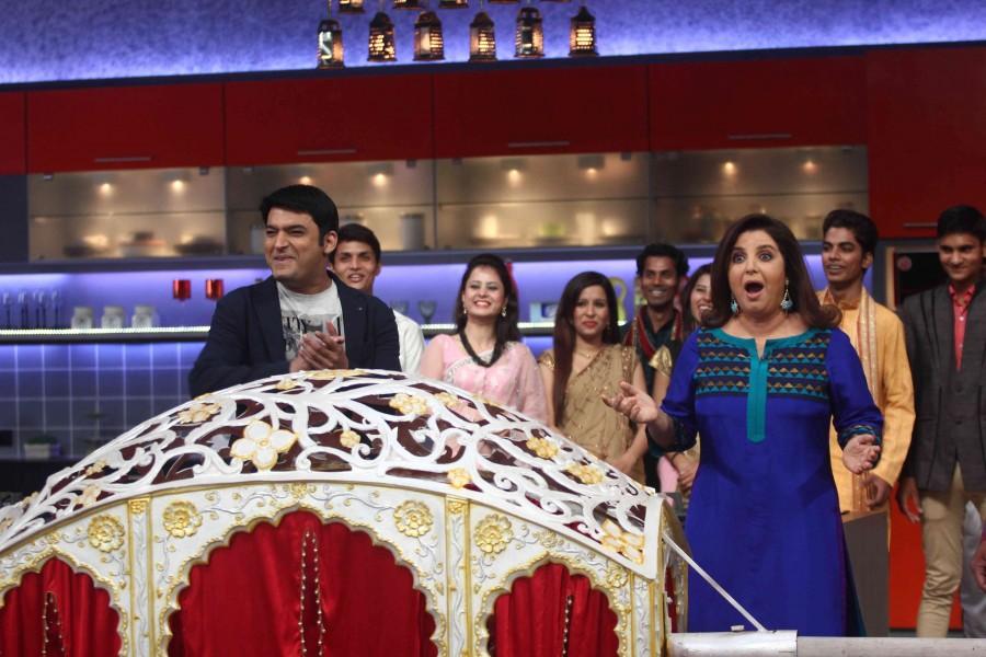 Farah Ki Daawat,farah khan,kapil sharma,comedy nights with kapil,Jacqueline Fernandez,Roy,Anil Kapoor,Dil Dhadakne Do,cookery show,Colors TV,photos