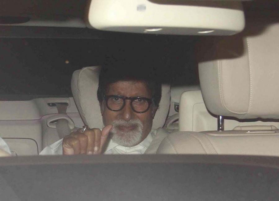 OK kanmani,OK Kanmani screening,amitabh bachchan,mani ratnam,Dulqer Salmaan,nithya menen,photos