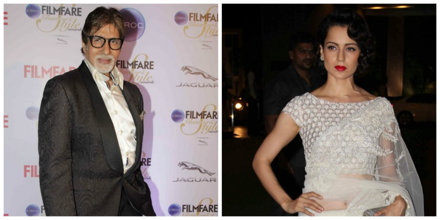 Kangana Ranaut and Amitabh Bachchan to JOIN FORCES?