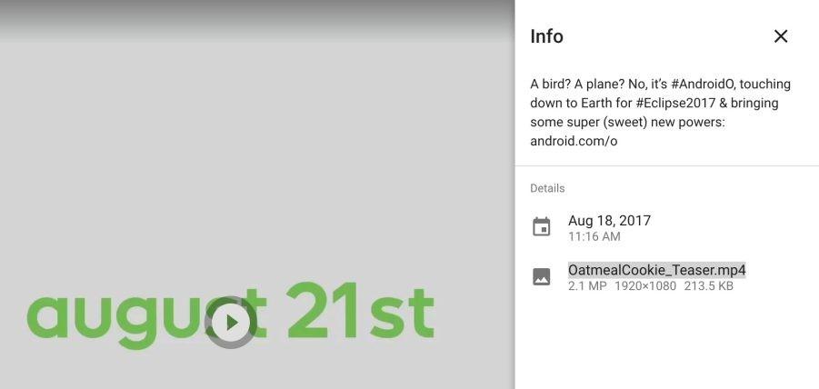 Google teases Android O nickname