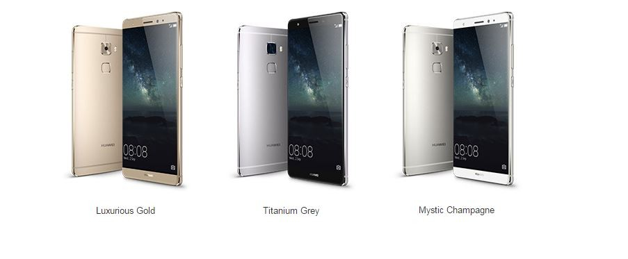 IFA 2015: Huawei Launches Metal-Clad Mate S with Finger-print Sensor; Force-Touch Version to Release Soon
