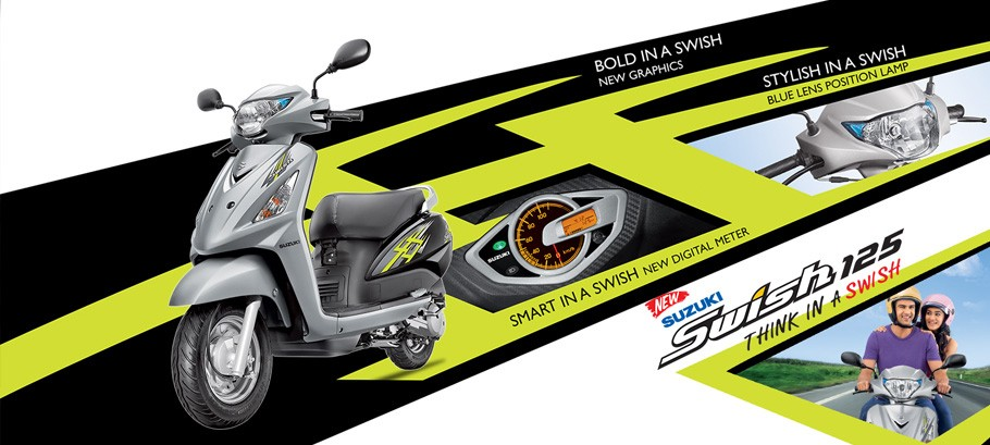 Suzuki Launches New Suzuki Swish 125 in India; Price, Feature Details