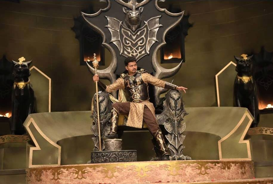 Puli first look,Puli movie stills,Puli Movie Latest Pics,vijay,vijay birthday,Hansika Motwani,Shruti Haasan,Puli Movie Latest stills,Puli Movie Latest photos,Puli Movie Latest pictures
