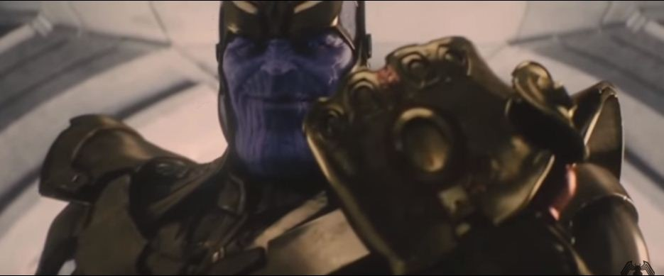 Thanos appeared in the mid-credit scene in 'Avengers Age of Ultron'