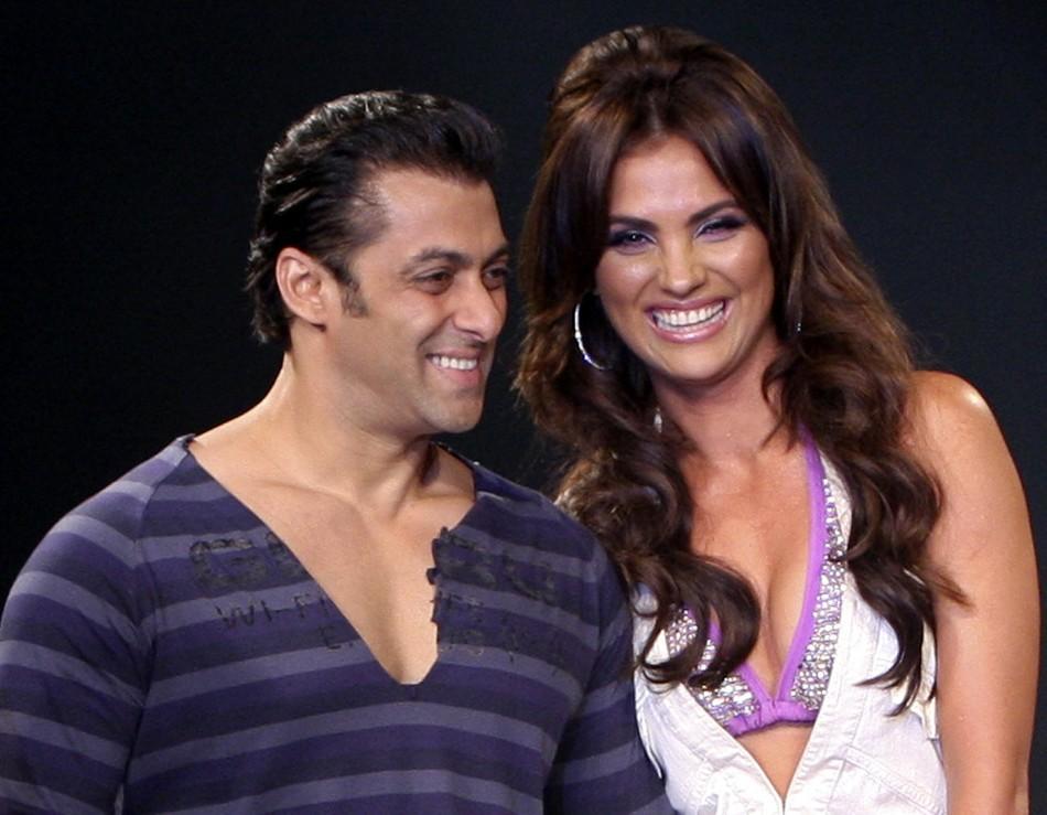 Salman Khan and Lara Dutta