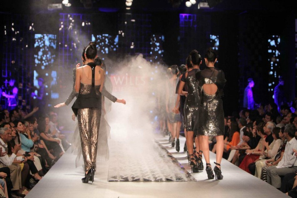 Grand Finale Wills Life Style India Fashion Week  Spring and Summer-2012