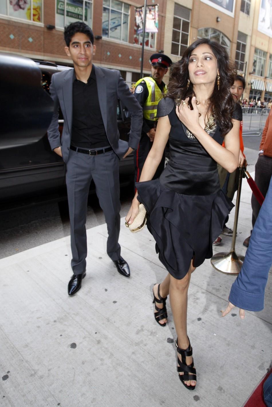 Freida Pinto and actor Dev Patel