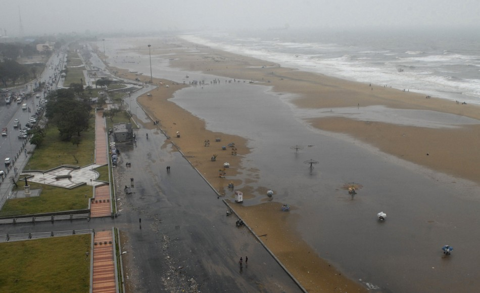 A view of Marina beach is seen after cyclone Thane hit the southern Indian state of Tamil Nadu December 30, 2011. (representational image)