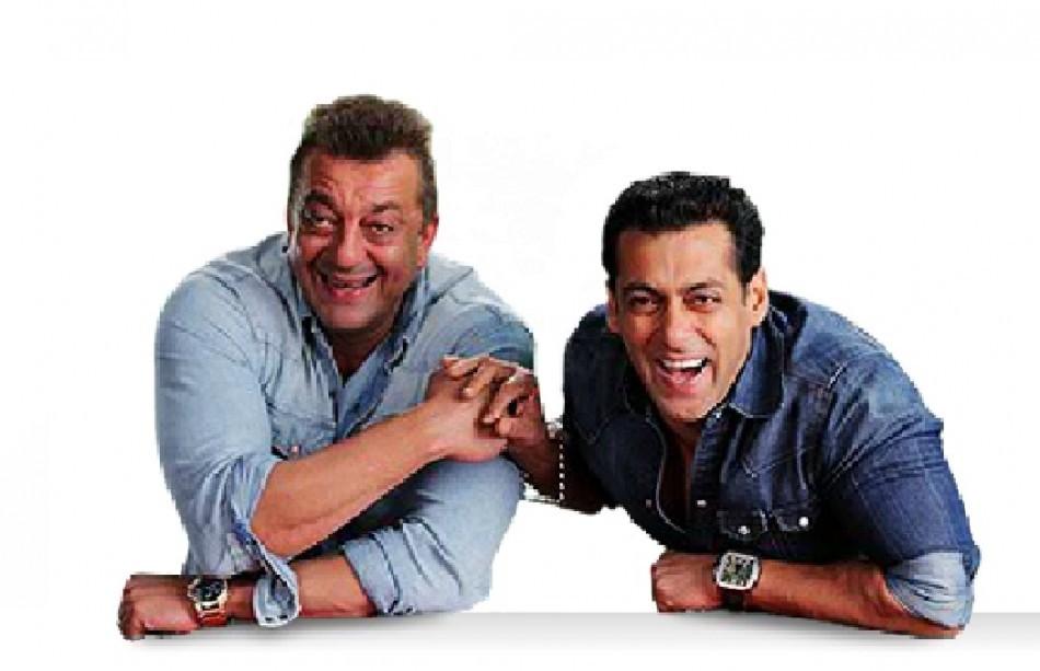 Sanajay Dutt and Salman Khan