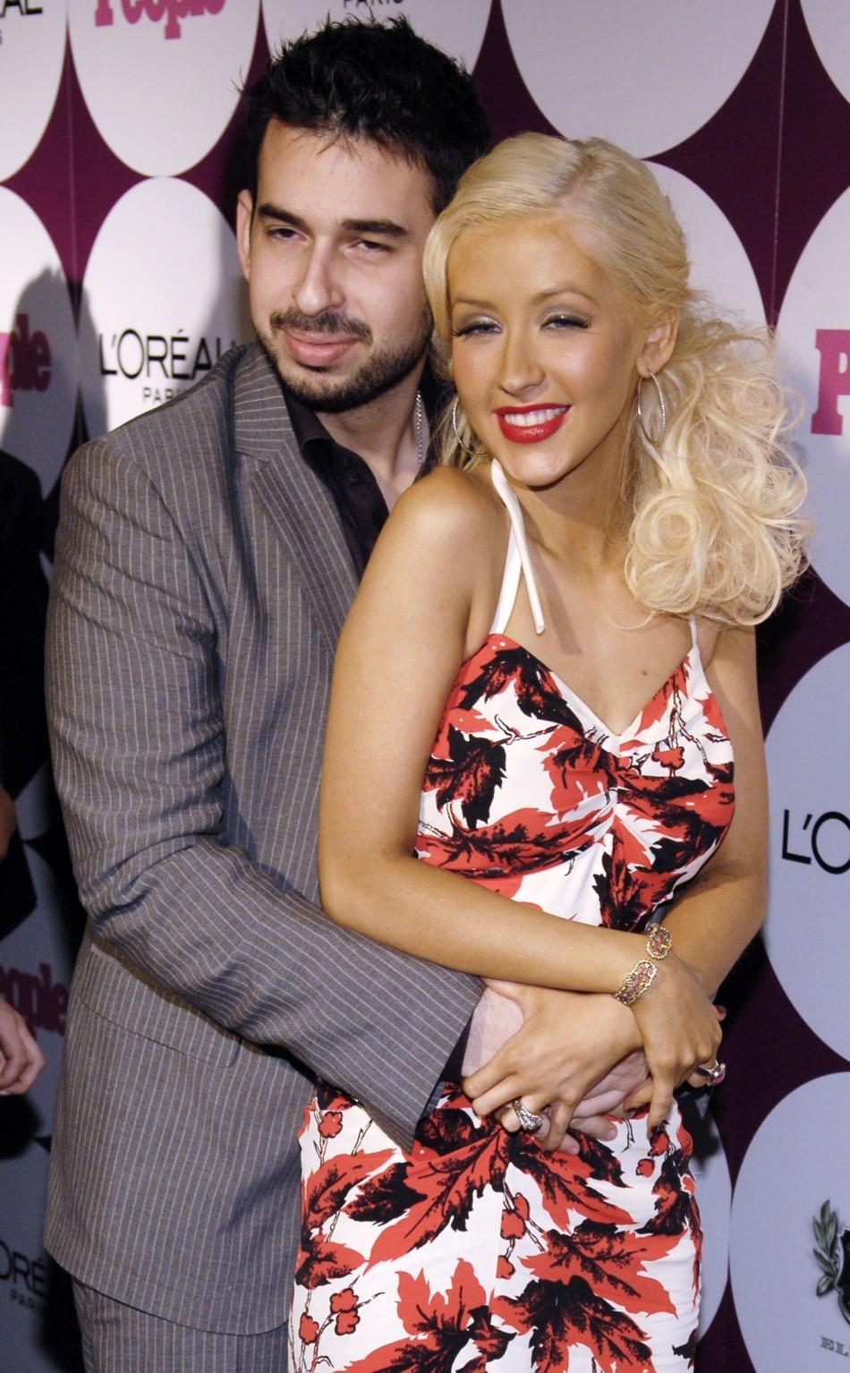 Singer Aguilera and Jordan Bratman
