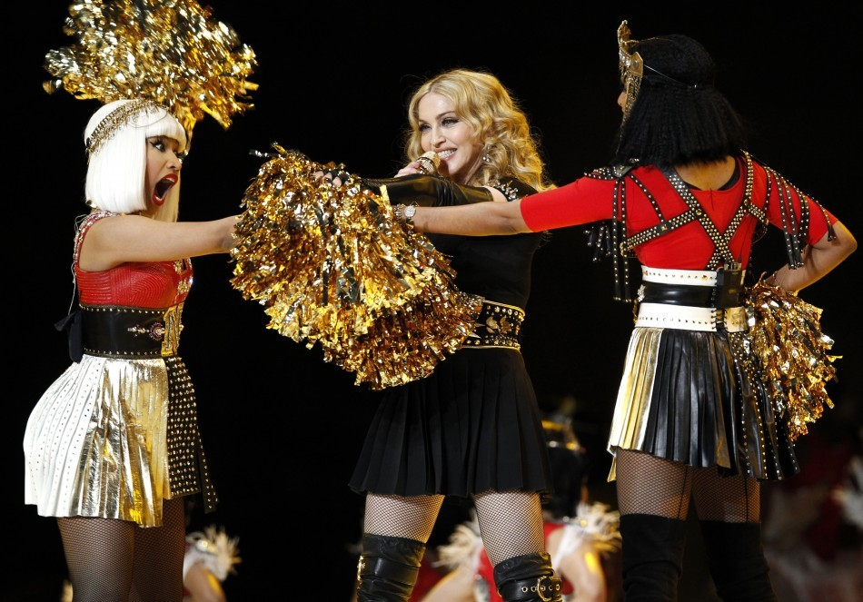 Madonna, Nicki Minaj, M.I.A