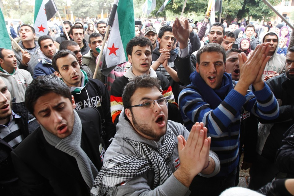 Lebanese and Syrian students