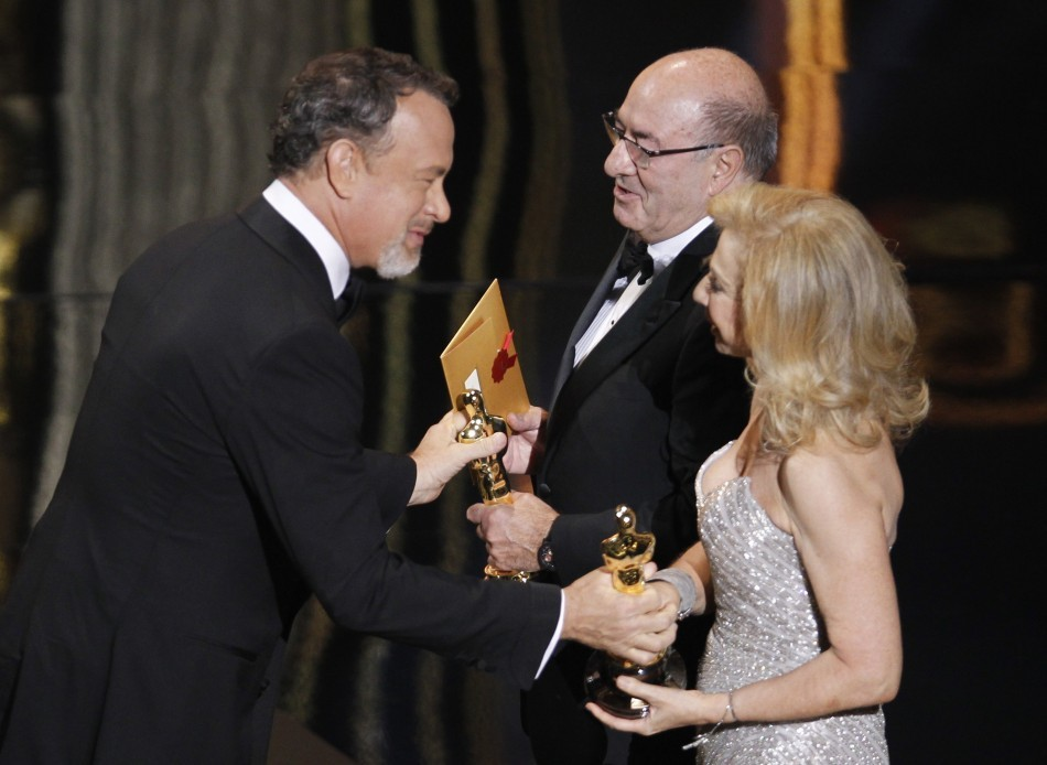 Tom Hanks, Dante Ferretti, Francesca Lo Schiavo