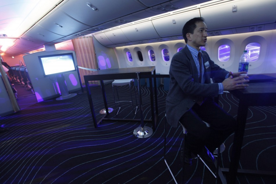 Future of india 39 s aviation boeing 787 dreamliner aircraft for Interior 787 aeromexico