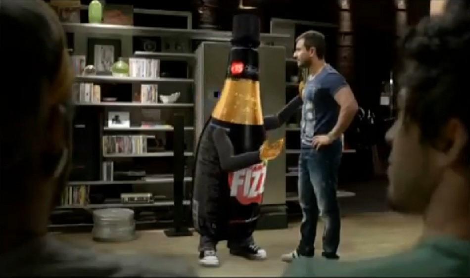 Saif Ali Khan in Appy Fizz Commercial