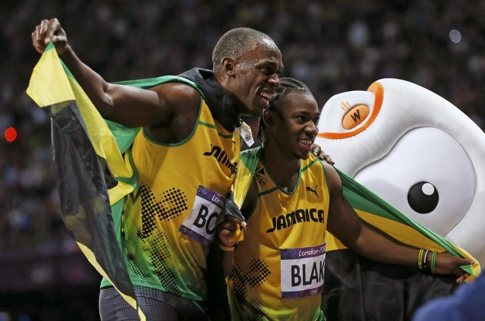Usain Bolt, Yohan Blake