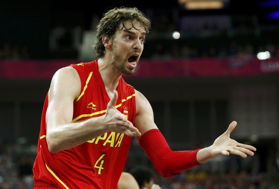 Pau Gasol could be traded before the start of the upcoming NBA season.