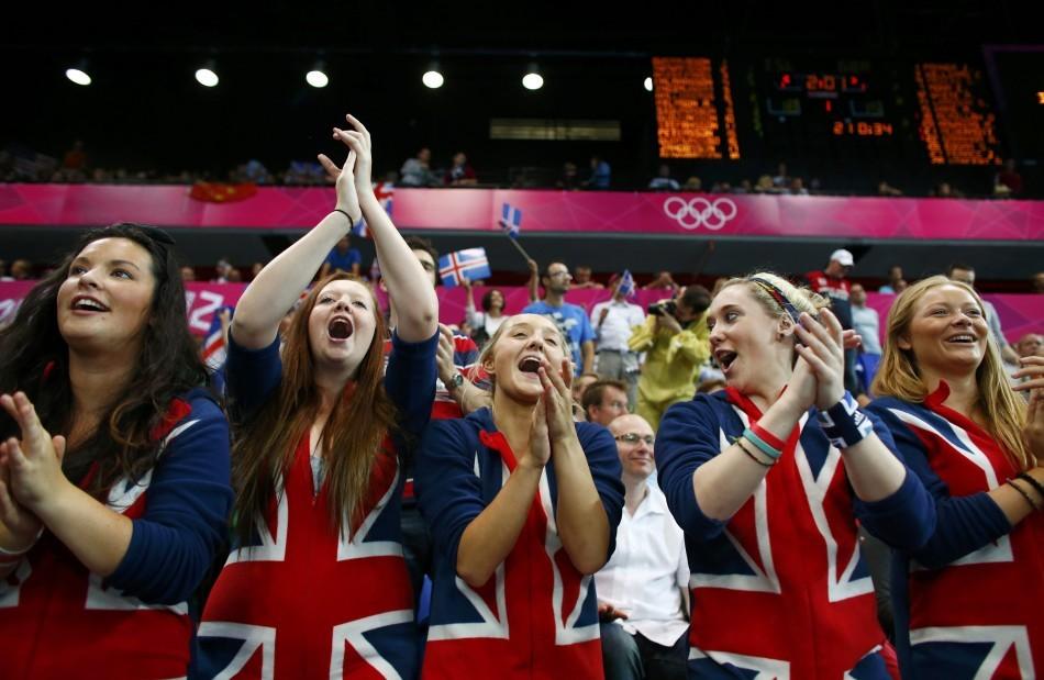 Britain fans