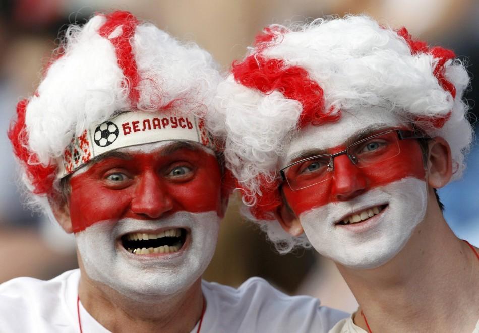 Belarus fans