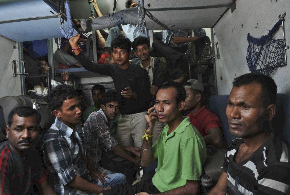 Plight of terrorised North-East Indians in pictures